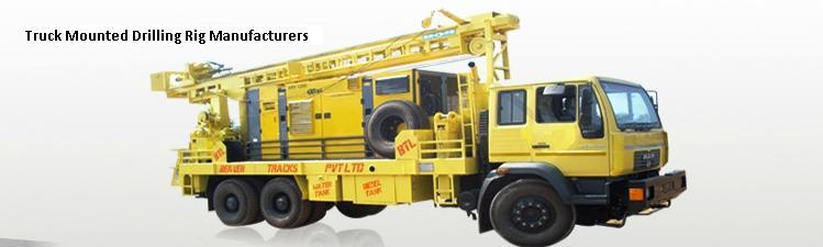 Truck Mounted Drilling Rig Manufacturers