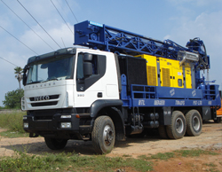 Pole Erection Drilling Rig India